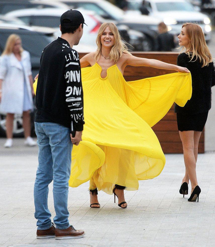 1. Засвет Глюкозы в желтом платье