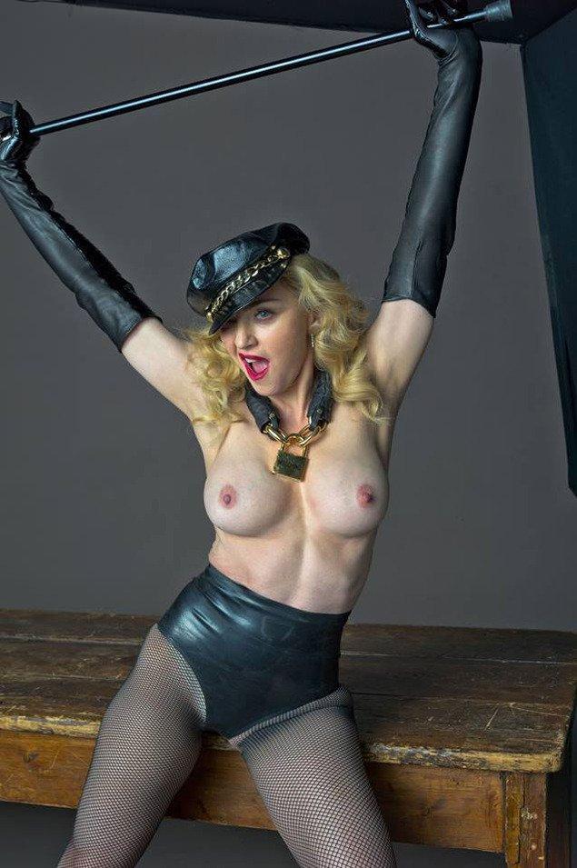 madonna-tits-nude-bondage-extreme-rope