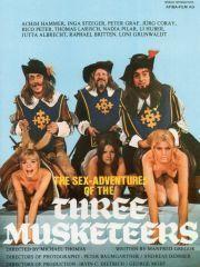 Сексуальные приключения трех мушкетеров – эротические сцены