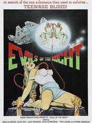 Зло в ночи – эротические сцены