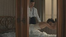 2. Кира Найтли засветила свою маленькую грудь – Опасный метод