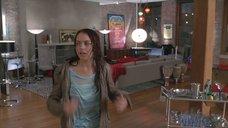 Линдси Лохан в мокрой футболке