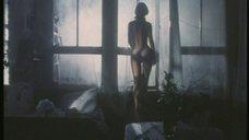 Голая Елена Захарова в лунном свете