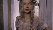 Наталья Вавилова в мокрой футболке