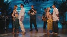 Николь Кидман и Дженнифер Энистон в конкурсе с кокосами