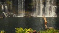 2. Бруклин Декер в купальнике под водопадом – Притворись моей женой
