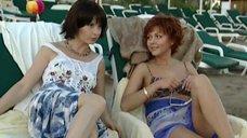 5. Дарья Повереннова и Ирина Лачина заигрывают на пляже – Слабости сильной женщины