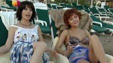 6. Дарья Повереннова и Ирина Лачина заигрывают на пляже – Слабости сильной женщины