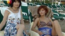 7. Дарья Повереннова и Ирина Лачина заигрывают на пляже – Слабости сильной женщины