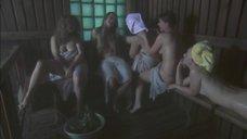 Куликова, Кузюткина, Михайлова, Бутакова и Петрова в бане