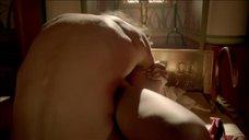 7. Страстный секс с Сибиллой Дин – Тут