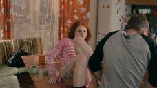 2. Интим с Ксенией Сурковой на кухонном столе – Ольга