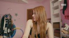 10. Ксения Суркова в лифчике перед вебкой – Ольга