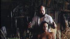10. Полностью голая Анна Матюхина в бане – Третья планета