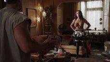 2. Голая грудь Алиссы ЛеБланк – Бесстыжие