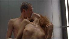Страстный секс с Ольгой Родионовой в лифте