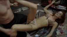 2. Страстный секс с Ольгой Родионовой в лифте – Лифт