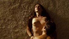 Секс с Еленой Николаевой на полу