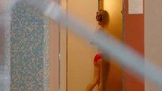 10. Секси Рина Гришина в красном купальнике – Отель Элеон