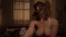 8. Постельная сцена с Шанолой Хэмптон и Исидорой Горештер – Бесстыжие