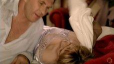 4. Секси Мария Звонарева в ночнушке – Охота на изюбря