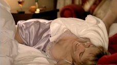 Секси Мария Звонарева в ночнушке