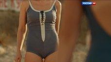 Купальник Дарья Екамасовой сильно обтянул половые губы