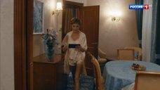 Дарья Повереннова в пижаме