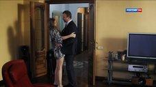 5. Сексуальная Алина Ланина в халате – Поздние цветы