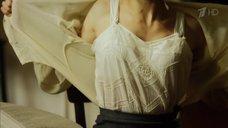 1. Эротичная Катерина Шпица в белом белье – Молодая гвардия