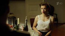 2. Эротичная Катерина Шпица в белом белье – Молодая гвардия
