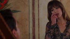 Софи Марсо в прозрачной блузке