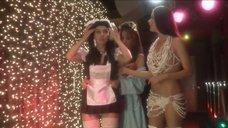 Юлия Зимина в образе сексуальной школьницы и полуголая Лидия Арефьева
