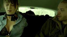 Интимная сцена с Екатериной Директоренко в машине