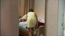 Юлия Рудина в полотенце