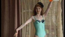 Стройная Амалия Мордвинова в купальнике
