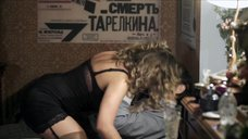 Секси Виктория Маслова в чулках