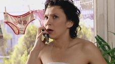 4. Олеся Железняк в полотенце – Любовь на районе