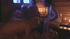 8. Эротические развлечения Любови Тихомировой и Артемьевой Ольги в бане – Особенности банной политики, или Баня 2