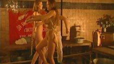 12. Эротическая сцена с Мариной Щербаковой и Изабеллой Романовой – Особенности банной политики, или Баня 2