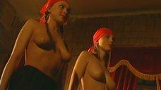 2. Эротическая сцена с Мариной Щербаковой и Изабеллой Романовой – Особенности банной политики, или Баня 2