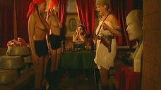 3. Эротическая сцена с Мариной Щербаковой и Изабеллой Романовой – Особенности банной политики, или Баня 2