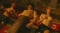 8. Эротическая сцена с Мариной Щербаковой и Изабеллой Романовой – Особенности банной политики, или Баня 2