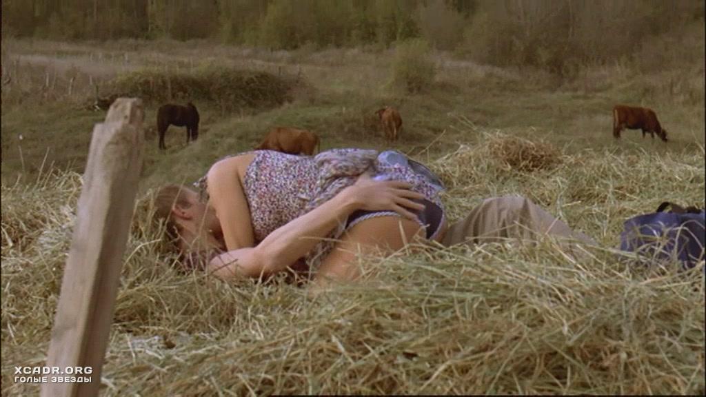 Секс в деревне на сеновале видео написано