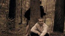 5. Полина Сыркина в трусиках в лесу – Без права на ошибку