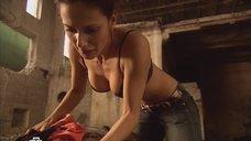 Анна Носатова в лифчике