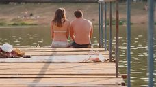 12. Секси Агния Дитковските в купальнике – Дело чести
