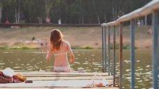 4. Секси Агния Дитковските в купальнике – Дело чести