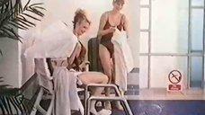 Татьяна Гальченко и Елена Майорова в купальниках