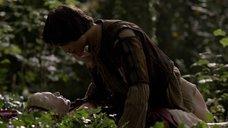 Интимная сцена с Холлидей Грейнджер в лесу